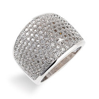 Ariella Collection Pave Ring
