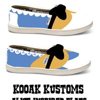 KOOAK Kustoms Disney Alice-Inspired Toms Flats