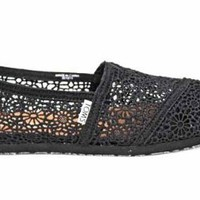 F1670A Toms Classics Womens Crochet Espadrilles Shoes Us10 Uk8