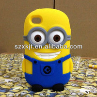 2013 New Product 3d Silicon Despicable Me Minion Case For Iphone 4 - Buy Despicable Me Minion Case,2013 New Product,Case For Iphone 4 Product on Alibaba.com