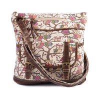 Owl Crossbody Bag, Brown, at Journeys Shoes