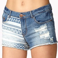 Well-Traveled Denim Shorts | FOREVER 21 - 2047108645