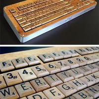 Homemade Scrabble Keyboard | Desktop | Gear