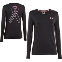 Under Armour Women's Power In Pink Gradient Flock Long Sleeve Shirt - Dick's Sporting Goods
