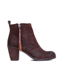 Dolce Vita Joust Bootie in Brown Suede