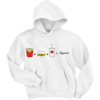 Fast Food Love Hooded Sweatshirt by SoulClothes on Etsy