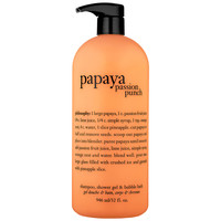 Philosophy Papaya Passion Punch Shampoo, Shower Gel