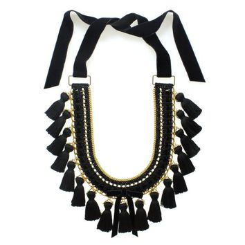 Mara necklace in black | MARGOT & ME
