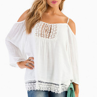 Juliette Off Shoulder Top $35