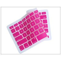 """Silicone Keyboard Cover for MacBook apple mac 13""""-15"""" Pink"""