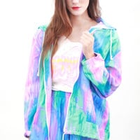 Watercolor Windbreaker | Tarte Vintage
