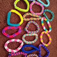 Rainbow loom  by LotSigns on Etsy