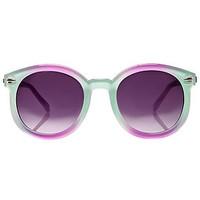 The Maxine Sunglasses in Cotton Candy