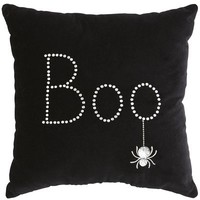 Boo Halloween Pillow