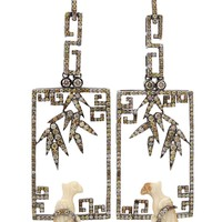 Bochic Perched Bird Earring - Jewelry Gallery At Marissa Collections - Farfetch.com