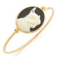 Marc by Marc Jacobs Olive Cameo Hinge Cuff Bracelet | SHOPBOP | Use Code: INTHEFAMILY25 for 25% Off