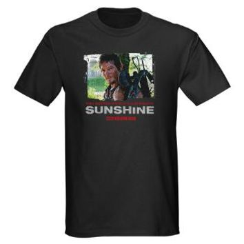 Daryl Dixon Watch Your Mouth Dark T-Shirt> Daryl Sunshine> The Walking
