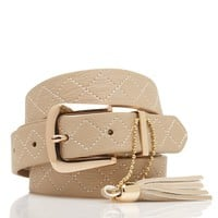 Elaine Stitch Belt - Forever New