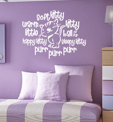 Soft Kitty Warm Kitty Big Bang Theory Vinyl by greatwallsoffire