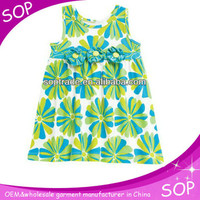 summer girls casual designer printed beach flower dress, View summer printed flower dress, SOP or customized Product Details from Guangzhou SOP Garments Co., Ltd. on Alibaba.com
