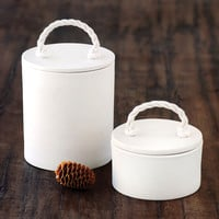 Small and Large Rope Canister