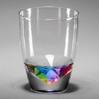 Merritt Rainbow Diamond Drinkware, Type: Tumbler 14oz