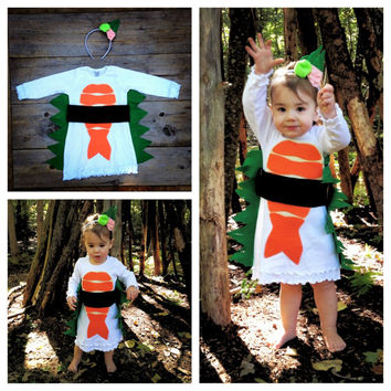 Toddler Sushi Dress Costume - Limited Edition