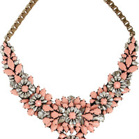 Shourouk | Apolonia silver-plated Swarovski crystal necklace