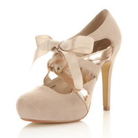 Sandi Nude Town Shoe - View All - Shoes - Miss Selfridge US