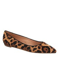 Collection Viv calf hair flats - flats - Women's shoes - J.Crew
