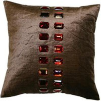 Chocolate Red Cushion | Beautiful Chocolate Red Cushions Available in for Cheap UK Delivery!