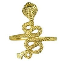 Gold Cobra Arm Cuff