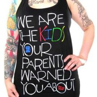 Mac Miller Girls Tank Top - We Are The Kids