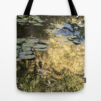 golden pond Tote Bag by Marianna Tankelevich