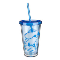 Disney Donald Duck Portrait Tumbler with Straw | Disney Store