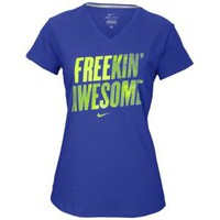 Nike Dri-Fit Cotton Free Run T-Shirt - Women's at Foot Locker