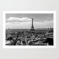 Paris 6 Art Print by Mareike Böhmer Photography
