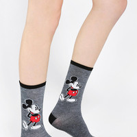 Mickey Mouse Crew Sock - Urban Outfitters