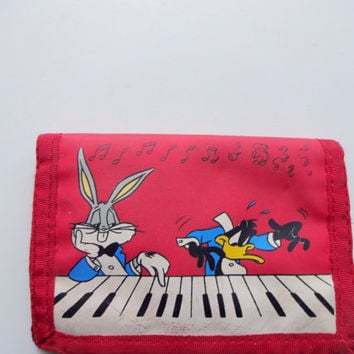 Vintage Looney Tunes Wallet 1989