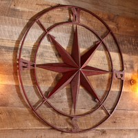Oversized Compass Décor