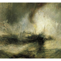 Snow Storm Giclee Print by William Turner at Art.com