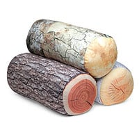 Sleeping Like a Log Pillows - Oak