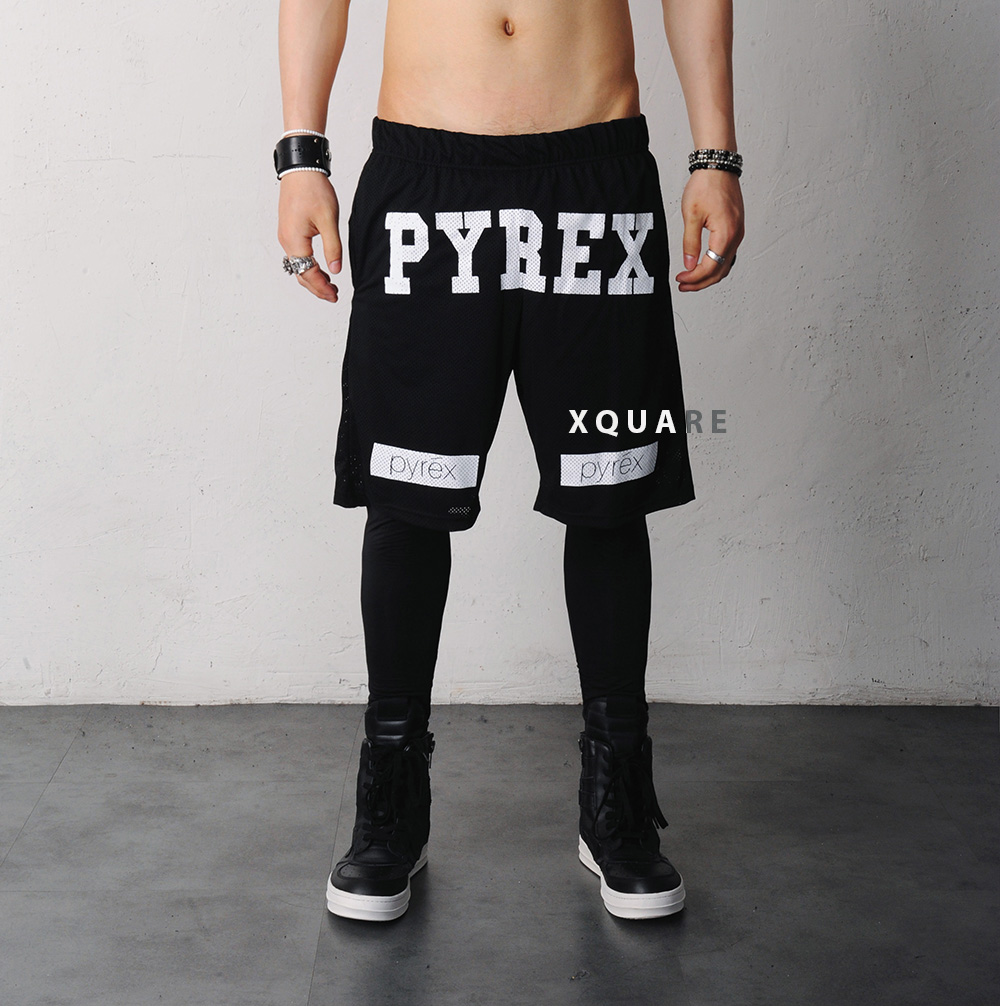 Pyrex Replica Mesh Gym Shorts From Fabrixquare Fitness