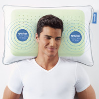 Soft Sound Speaker Pillow at Brookstone—Buy Now!