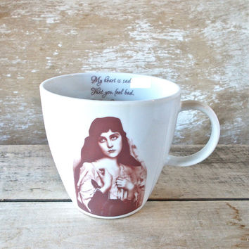 Get Well Soon Mug, Gypsy Coffee Cup, Snarky Get Well Gift, Ready to Ship