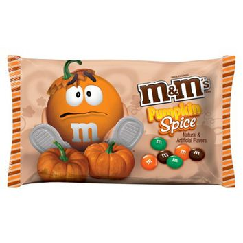 Target Exclusive M&M's Pumpkin Spice Chocolate Candy 9.9 oz