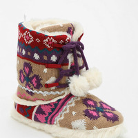 Fairisle Slipper-Boot - Urban Outfitters