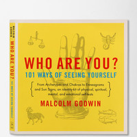 Who Are You?: 101 Ways of Seeing Yourself By Malcolm Godwin   - Urban Outfitters