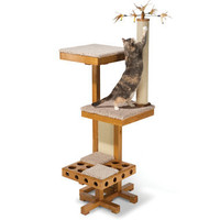 The Cat Activated Playground - Hammacher Schlemmer