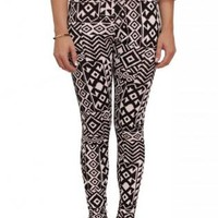 High-Waisted Aztec Leggings